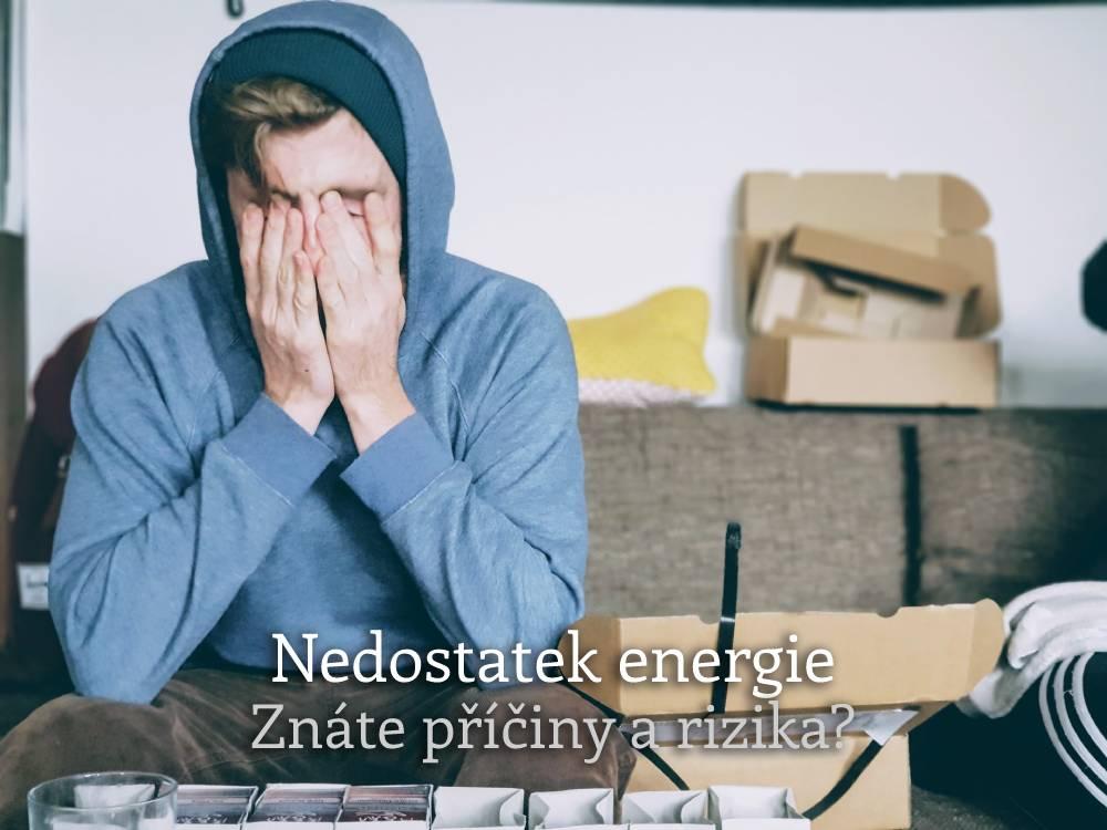 nedostatek energie